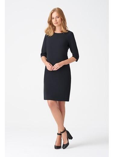 NaraMaxx NaraMaxx 18K11112Y972001 Truvakar Kol Kadın Elbise Siyah